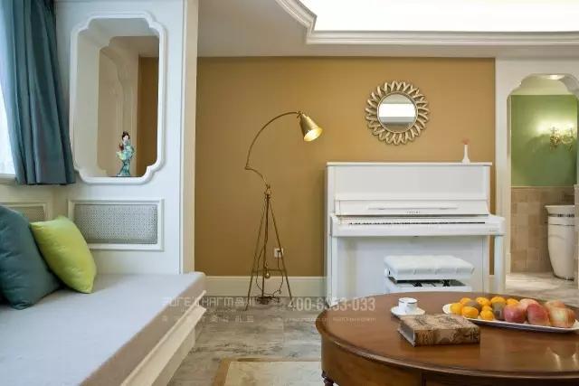 客厅图片来自品川室内设计在【品川设计】经典现代美式风格的分享
