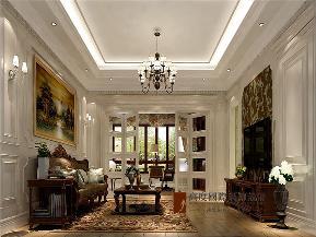 美式 别墅 高帅富 未来家 白富美 书房图片来自高度国际姚吉智在892平米美式独栋别墅至尊新贵的分享