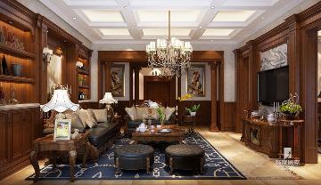 800方独栋别墅筑造美式风格