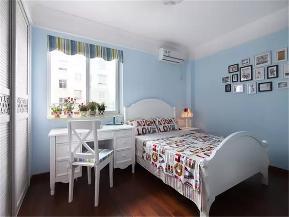 美式 三居 收纳 小资 80后 儿童房图片来自高度国际姚吉智在120平米美式乡村三居低奢的分享