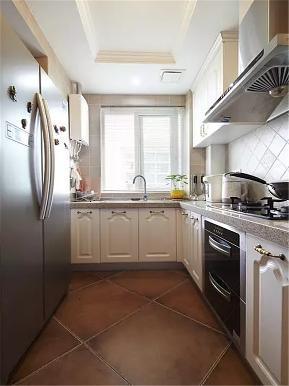 美式 三居 收纳 小资 80后 厨房图片来自高度国际姚吉智在120平米美式乡村三居低奢的分享