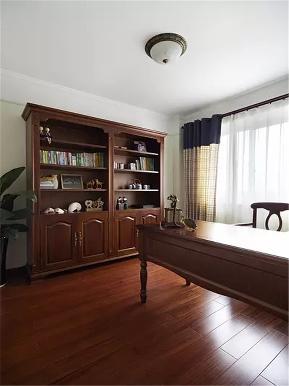 美式 三居 收纳 小资 80后 书房图片来自高度国际姚吉智在120平米美式乡村三居低奢的分享