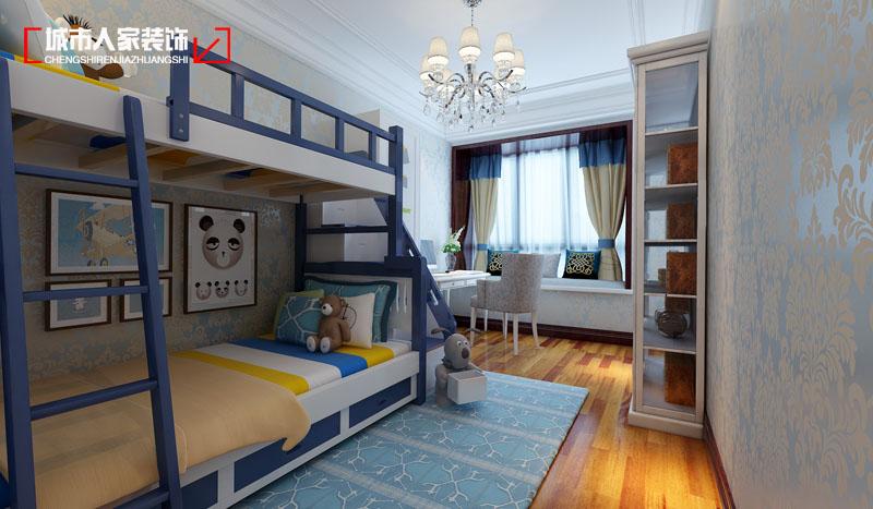 欧式 小资 装修 奢华 舒适 卧室图片来自太原城市人家原卯午在奢华 湖滨晋庭220平米欧式设计的分享