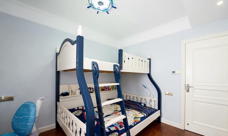 儿童房图片来自家装大管家在淡雅色系 135平简约大气时尚3居的分享
