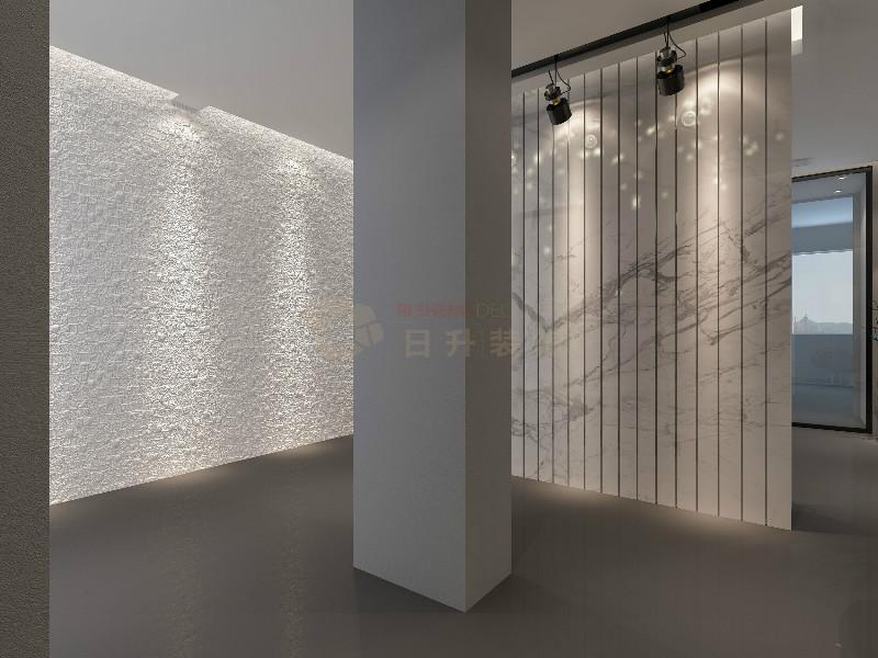 日升装饰 现代简约 现代办公室 西安办公司 玄关图片来自装修设计芳芳在高级灰办公室设计的分享
