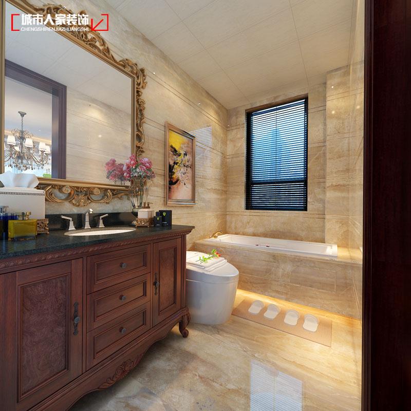 欧式 小资 装修 奢华 舒适 卫生间图片来自太原城市人家原卯午在奢华|湖滨晋庭220平米欧式设计的分享