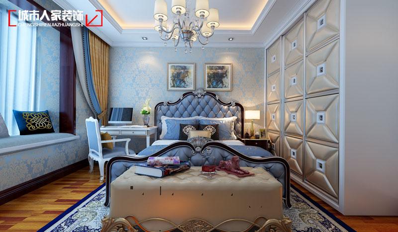 欧式 小资 装修 奢华 舒适 卧室图片来自太原城市人家原卯午在奢华|湖滨晋庭220平米欧式设计的分享