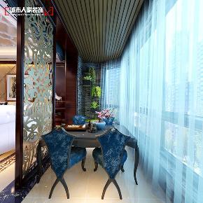 欧式 小资 装修 奢华 舒适 阳台图片来自太原城市人家原卯午在奢华|湖滨晋庭220平米欧式设计的分享
