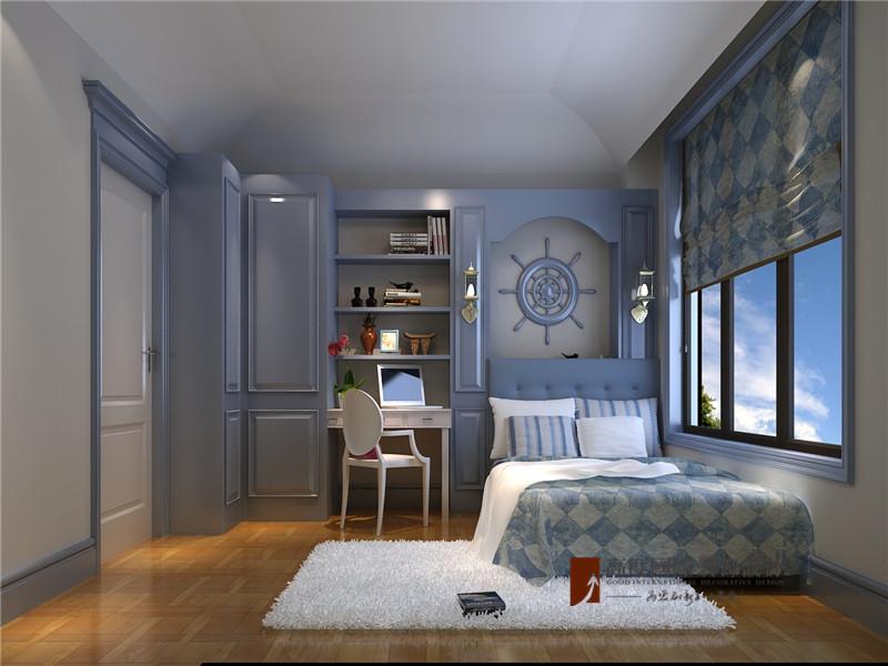 混搭 别墅 80后 小资 高帅富 儿童房图片来自高度国际姚吉智在大学里孔雀城400平米混搭别墅的分享
