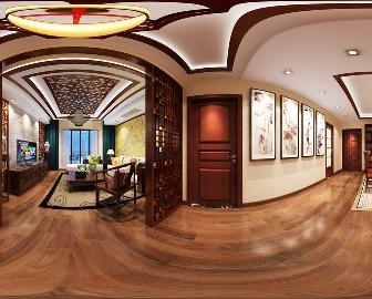 融城-120平米-中式风格