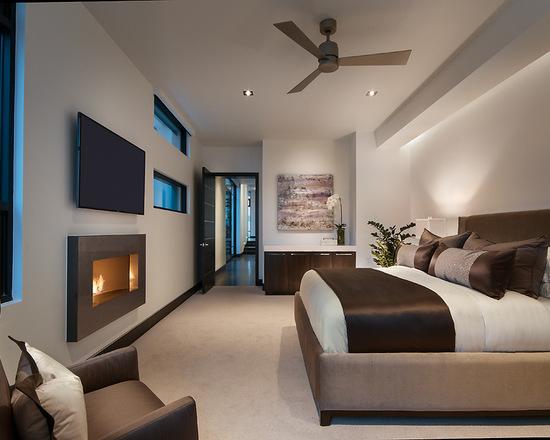 简约 别墅 卧室图片来自别墅设计师杨洋在大气沉稳简约风格设计的分享