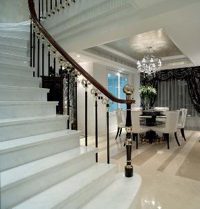 简约 欧式 田园 混搭 别墅 旧房改造 老房设计 三居 二居 楼梯图片来自元洲装饰木子在欧式风格装修家居设计的分享