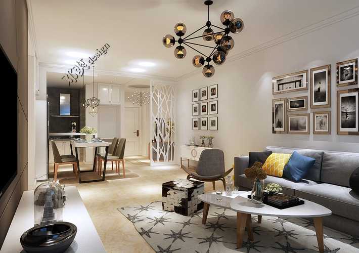 简约 现代 二居 白领 收纳 80后 小资 客厅图片来自百家装饰-小敬在沈阳雅宾利花园现代时尚生活的分享