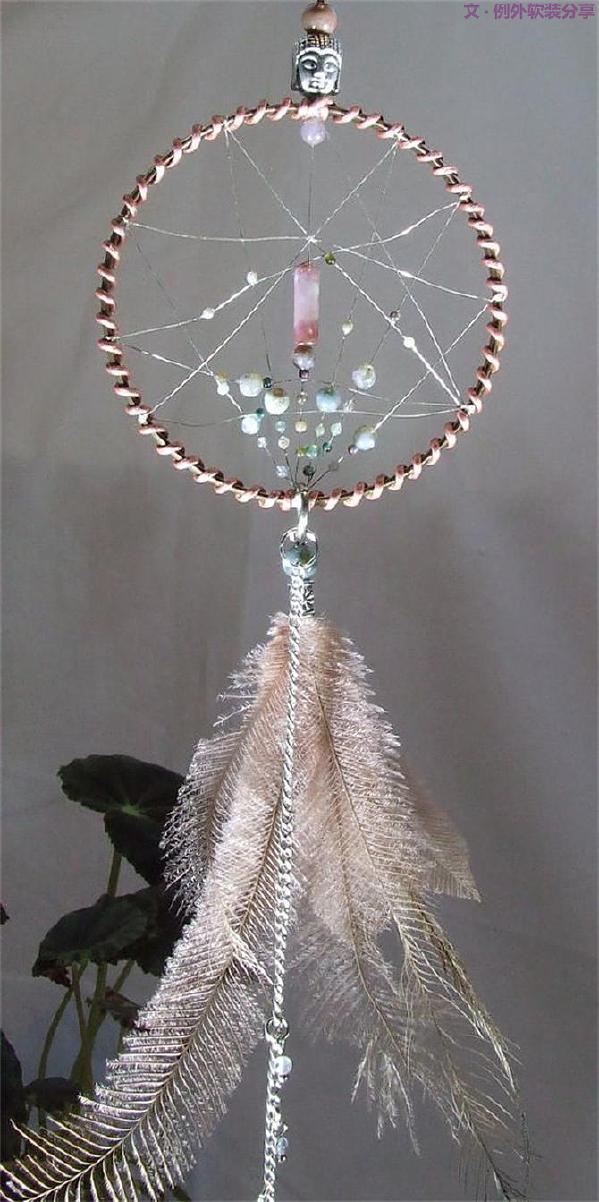 捕梦网源自18世纪,它的形状是一个圆形,代表着每天划过天空的太阳、月亮。