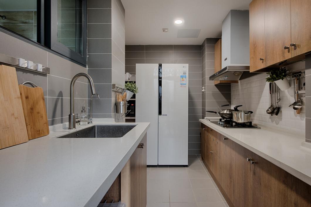简约 欧式 田园 二居 收纳 旧房改造 厨房图片来自今朝装饰小张在打造森系北欧风的分享