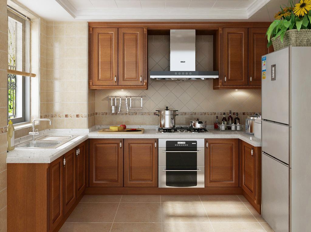 欧式 四居室 厨房图片来自轻舟装饰-90后的华仔在海晟名苑-160平米-简约欧式的分享