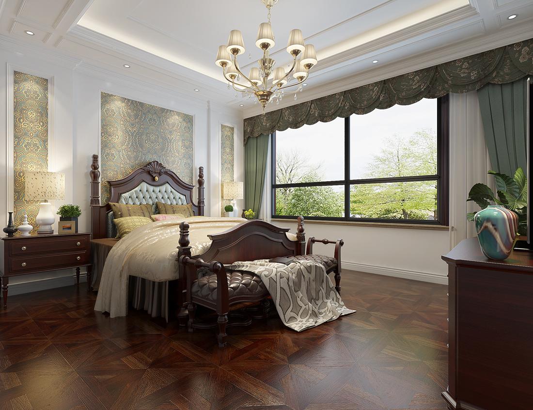别墅 欧式 卧室图片来自轻舟装饰-90后的华仔在翡丽庄园-380平米-欧式风格的分享