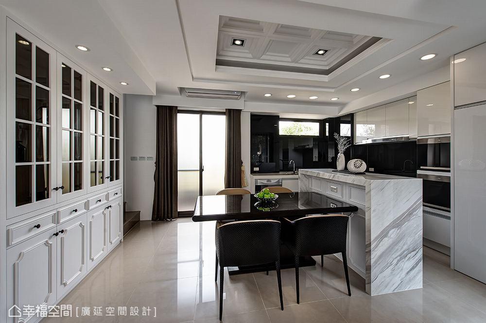 四居 新古典 别墅 厨房图片来自幸福空间在二次换屋不蜗居 132平新古典宅的分享