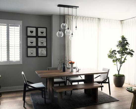 简约 现代 餐厅图片来自别墅设计师杨洋在黑白的简易设计的分享