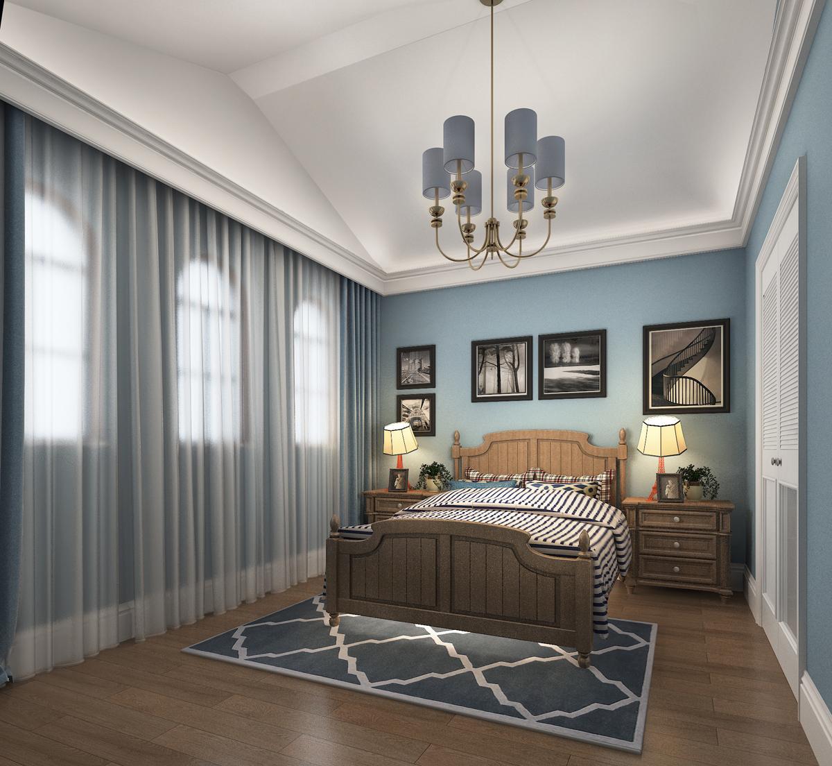 简约 美式 别墅 儿童房图片来自轻舟装饰-90后的华仔在亚运新新家园-480平米-简美风格的分享