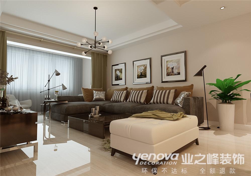 客厅图片来自青岛业之峰官方客服--小万在中铁兴安府     现代简约的分享