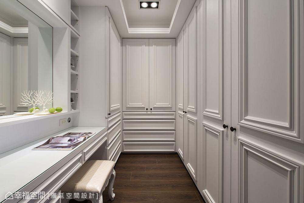 四居 新古典 别墅 衣帽间图片来自幸福空间在二次换屋不蜗居 132平新古典宅的分享