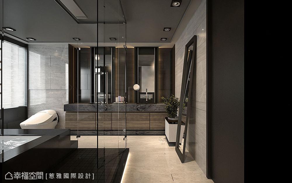 别墅 现代 四居 卫生间图片来自幸福空间在穿越 苏园的分享