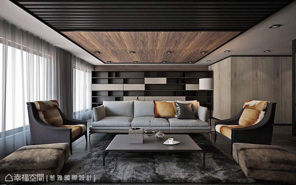 别墅 现代 四居 客厅图片来自幸福空间在穿越 苏园的分享