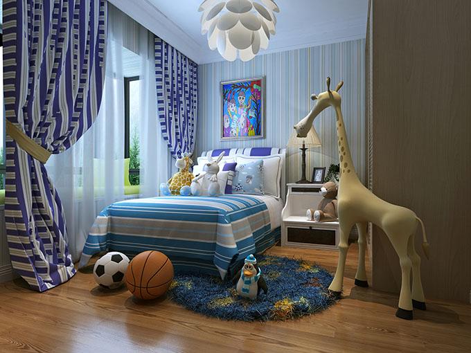 简约 三居 80后 白领 卧室图片来自盛星装饰小傅在翡翠水城的分享