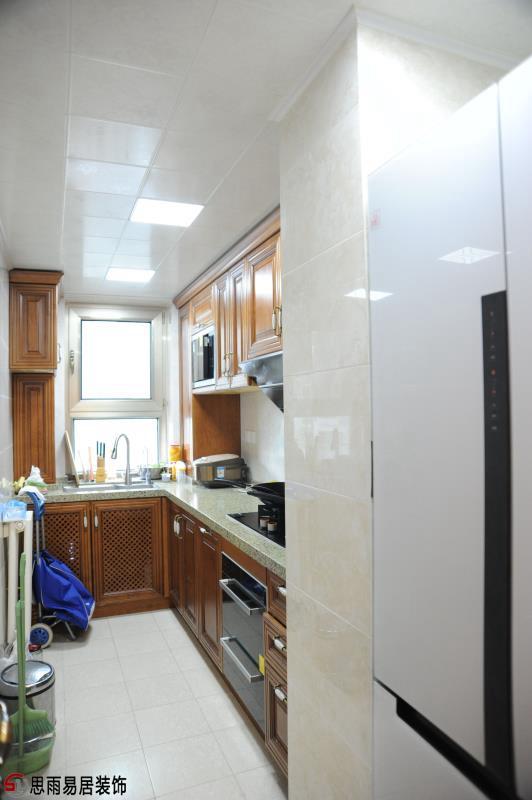 二居 美式 70平 厨房图片来自思雨易居设计在《雅舍》北京70平2居美式实景的分享