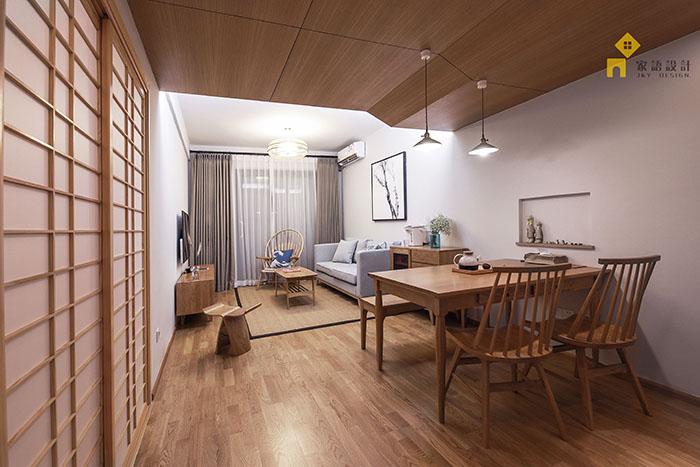 旧房改造 三居 日式 餐厅图片来自jiayu在良品·家的分享