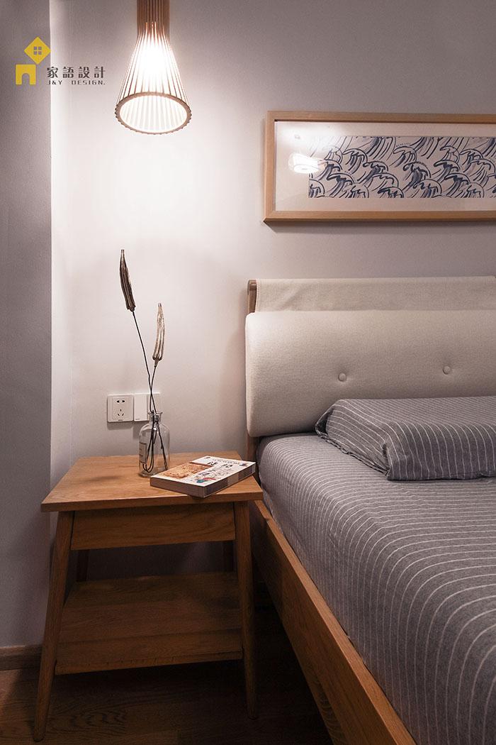 旧房改造 三居 日式 卧室图片来自jiayu在良品·家的分享
