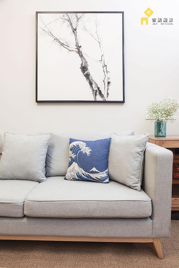 旧房改造 三居 日式 客厅图片来自jiayu在良品·家的分享