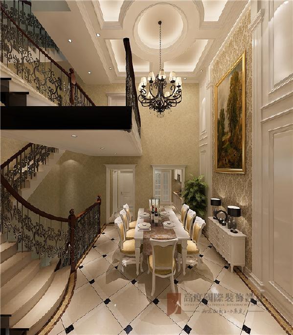 餐厅调控特别大气,空间区域划分更加清晰,让美食古典风格得意进一步的彰显。