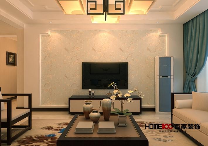 三居图片来自百家装饰小西在东大迎湖园136平新中式风格的分享