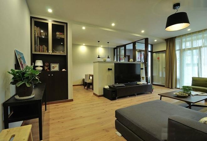 简约 三居 小资 白领 客厅图片来自岚庭家居在融侨悦府120平现代的分享