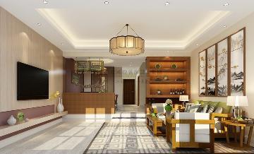 500方排屋别墅筑造新中式风格