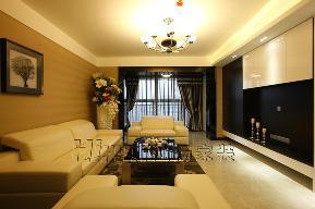 欧式 温馨 高品质 白领 80后 简欧 客厅图片来自鸿扬家装武汉分公司在世茂锦绣长江之北欧之光的分享
