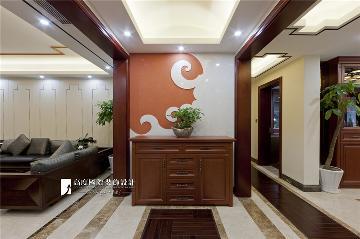 龙湖春江彼岸-198平方中式风格