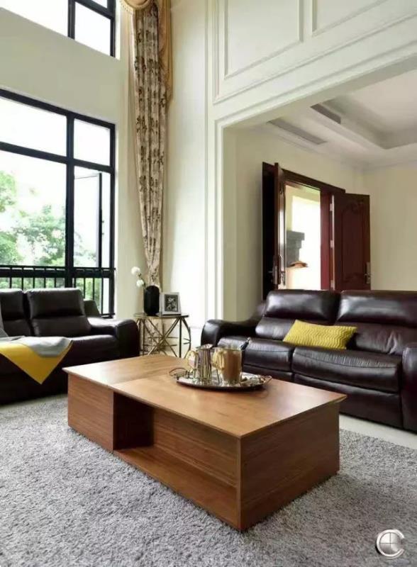客厅图片来自南昌楷模家居生活馆在大作实景案例的分享