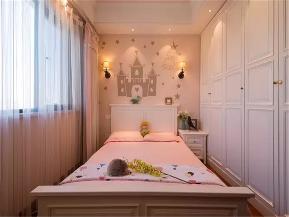 美式 三居 小资 80后 旧房改造 儿童房图片来自高度国际姚吉智在125平米温馨浪漫美式三居室的分享