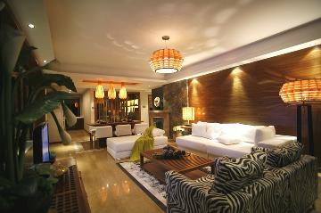 紫薇风尚简约中式四居室