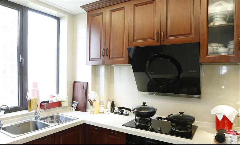 简约 中式 混搭 城南华府 三居 成都装修 成都设计 白领 80后 厨房图片来自乐粉_20170523094252350在新中式新家喝杯茶的分享