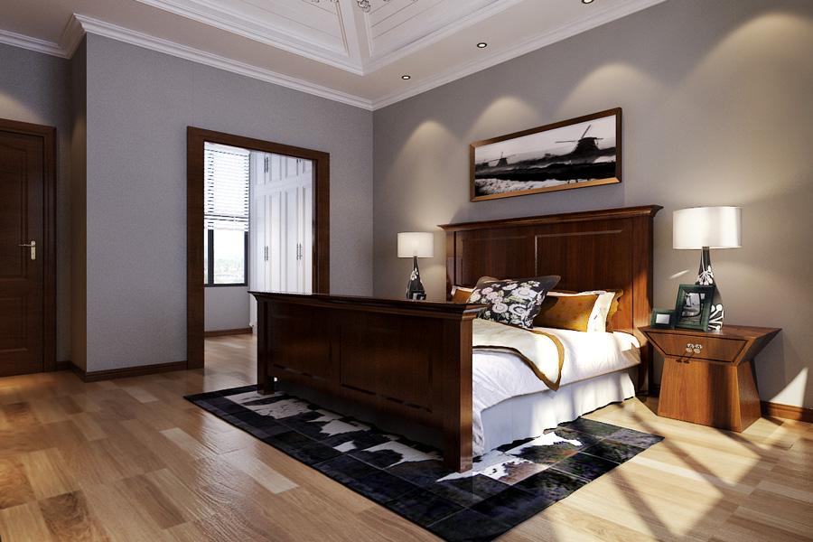 卧室 卧室图片来自天津生活家健康整体家装在东屿别墅-简美别墅设计效果案例的分享