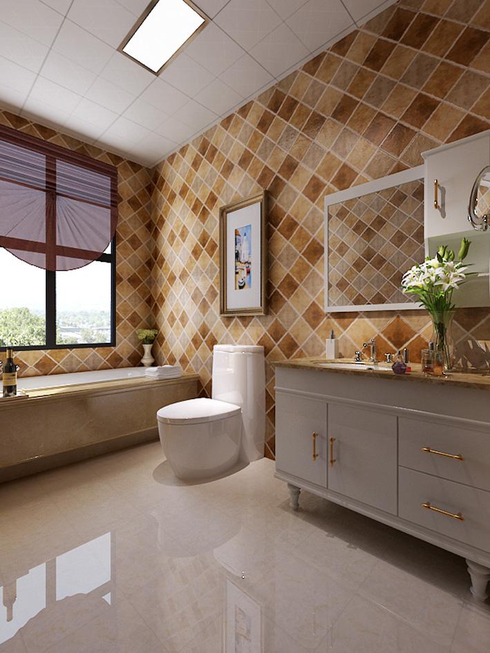 卫生间 卫生间图片来自天津生活家健康整体家装在东屿别墅-简美别墅设计效果案例的分享