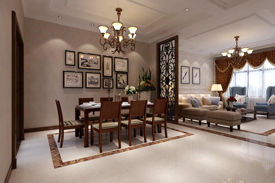 餐厅 餐厅图片来自天津生活家健康整体家装在东屿别墅-简美别墅设计效果案例的分享