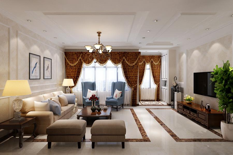 客厅 客厅图片来自天津生活家健康整体家装在东屿别墅-简美别墅设计效果案例的分享