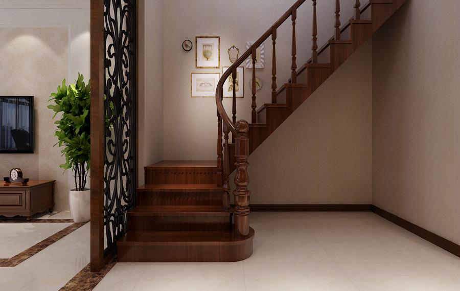 楼梯 楼梯图片来自天津生活家健康整体家装在东屿别墅-简美别墅设计效果案例的分享