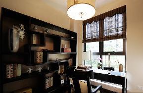 简约 三居 中式 白领 80后 小资 成都装修 成都设计 宅天下装饰 书房图片来自乐粉_20170523094252350在闲情雅致的分享