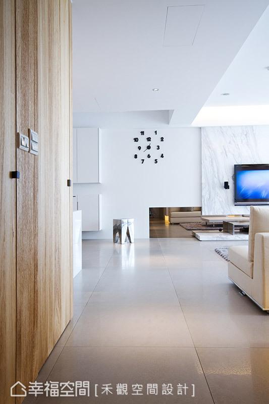 二居 北欧 简约 其他图片来自幸福空间在纯净无瑕 172平零压感自然美宅的分享